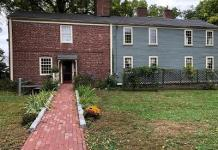 Royall House Slave Quarters Entrance