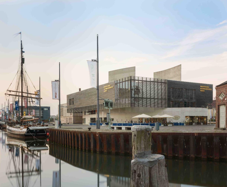 Das Auswandererhaus in Bremerhaven.