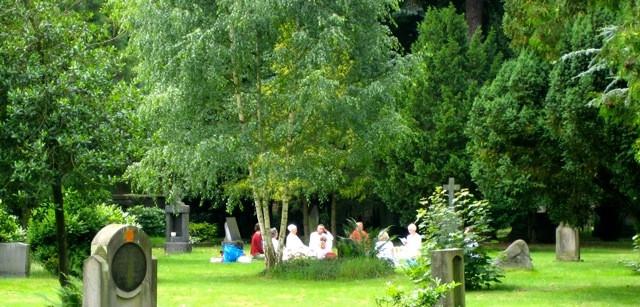 Auch hier gibt es eine Yoga-Stunde unter freiem Himmel © Osnabrück -Marketing und Tourismus GmbH