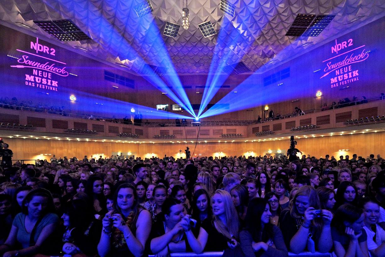 In der Stadthalle findet jeder Musikliebhaber einen guten Platz © NDR2 Soundcheck