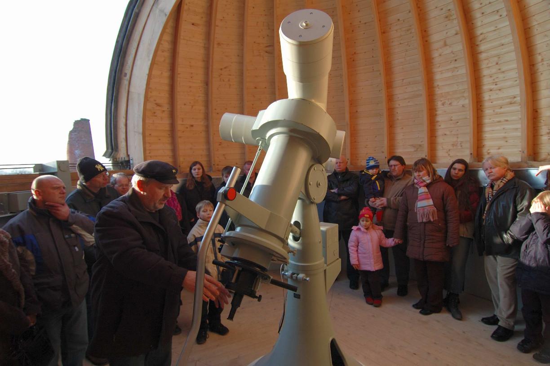 Seit 2006 stellt der Verein die Sternwarte der Öffentlichkeit zur Verfügung.