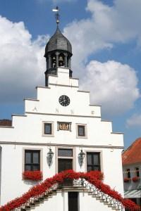 Das historische Rathaus ist ein Blickfang © LWT Lingen Wirtschaft + Tourismus GmbH