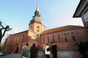 Der Aufstieg auf den Kirchturm ist eine sportliche Angelegenheit © Martin Elsen