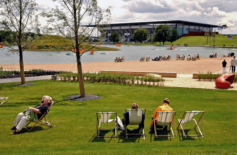 Die Landesgarten hat 2004 in Wolfsburg stattfgefunden