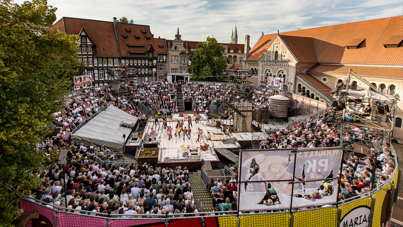 2014 wurde die West Side Story aufgeführt. Fast jede Vorstellung war ausverkauft. Foto: Staatstheater Braunschweig