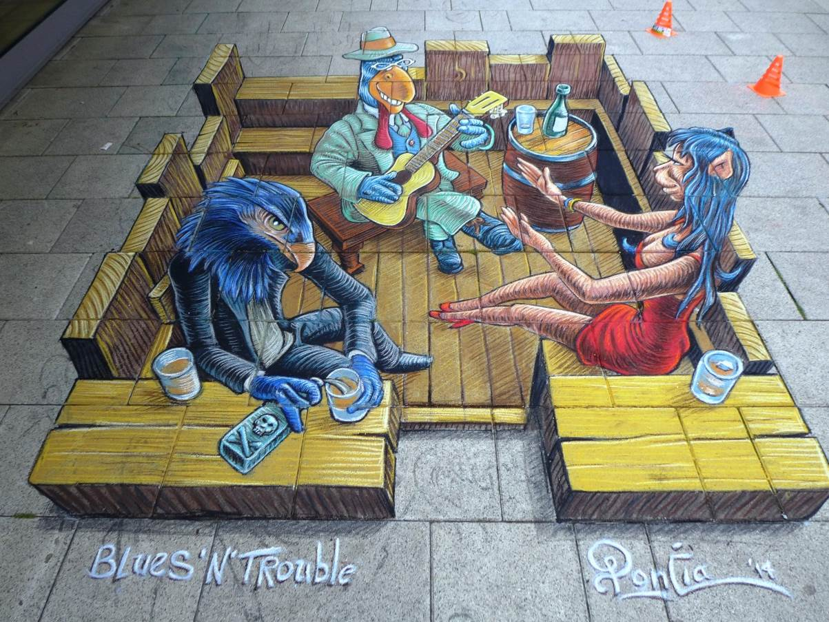 StreetArt Ruben Poncia| Foto: Barbara