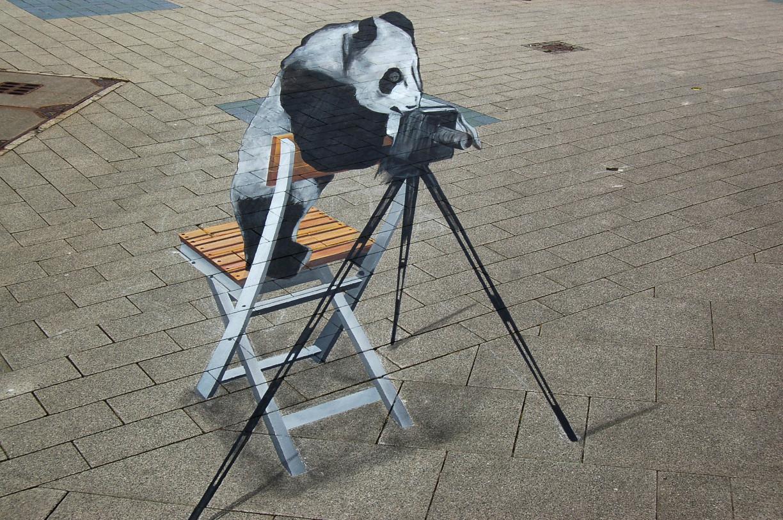 StreetArt Toni Cuboliquido| Foto: Barbara