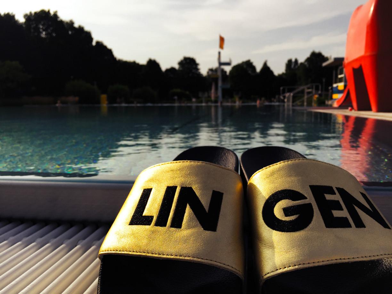 Das Linus in Lingen lockt bei sommerlichen Temperaturen / © Henning Klus