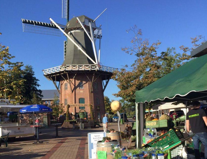 Auf dem Mühlenplatz rund um Meyers Mühle finden jährlich pfingstmontags der Mühlenmarkt und im Herbst der Bauernmarkt statt. Hier werden jeweils regionale Produkte angeboten.