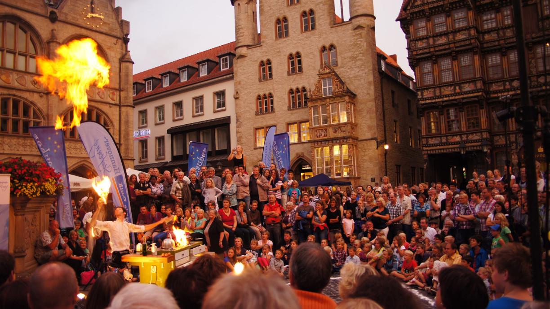Pflasterzauber in Hildesheim © Hildesheim Marketing