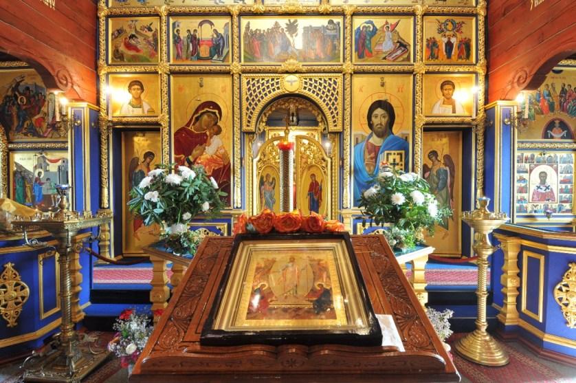 Der Altar der Russisch-Orthodoxen Kirche © Südheide Gifhorn GmbH