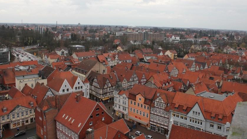 Über den Dächern von Celle