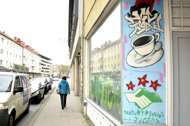 Eingangsbereich zu einem Jugendcafé. Foto: Braunschweig Stadtmarketing GmbH