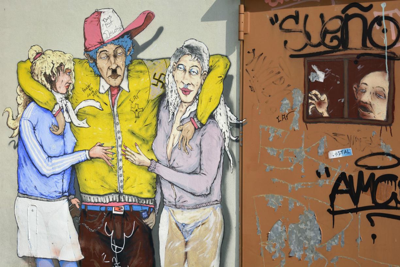 Olf Lupin am Parkhaus am Wall in Braunschweig. Foto: Braunschweig Stadtmarketing GmbH