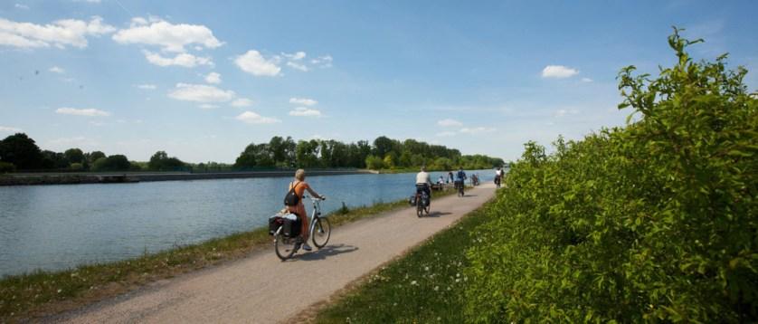 Fahrradtour am Mittellandkanal