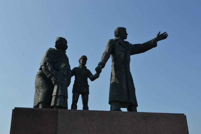 Auswandererdenkmal in Bremerhaven