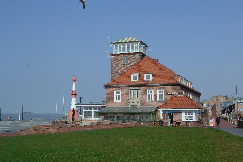 Restaurant Strandhalle und die Umgebung