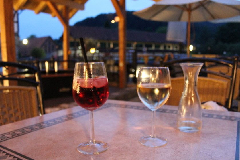 Drinks mit Ausblick - hier auf die Mühlenbrücke (c) Giel