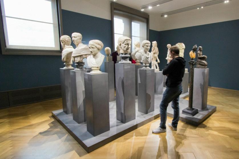 Das zweite Obergeschoss zeigt Skulpturen und Angewandte Kunst. Foto: Braunschweig Stadtmarketing GmbH