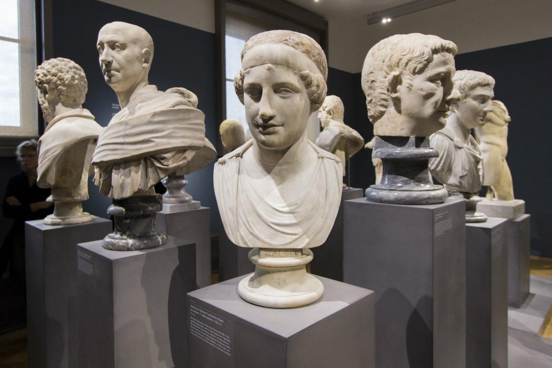 Dieser Kopf gehörte vermutlich einmal zu einer Statue der Aphrodite. Foto: Braunschweig Stadtmarketing GmbH