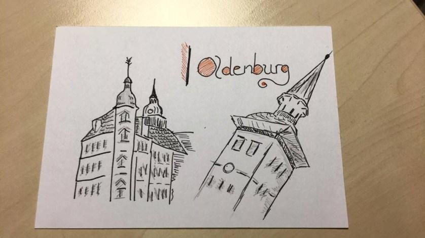 Diese Postkarte schickte mir Vanessa, meine Kollegin, für meinen Blog! Danke