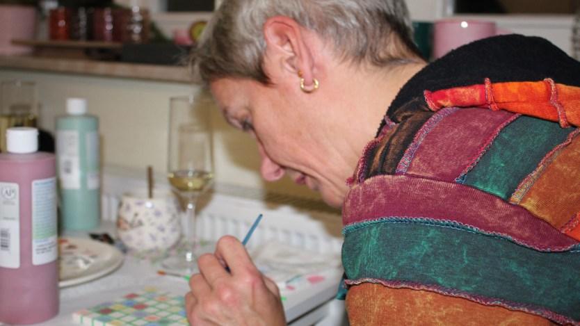 Keramik bemalen macht Spaß in Celle