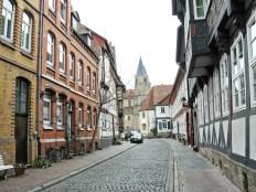 Straße im Fachwerkviertel