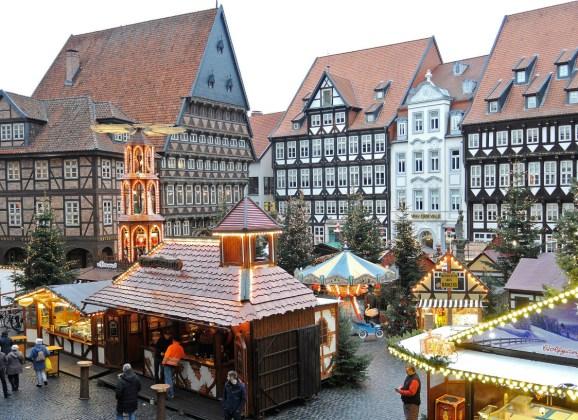 Ausflug in die Weihnachtsstadt Hildesheim
