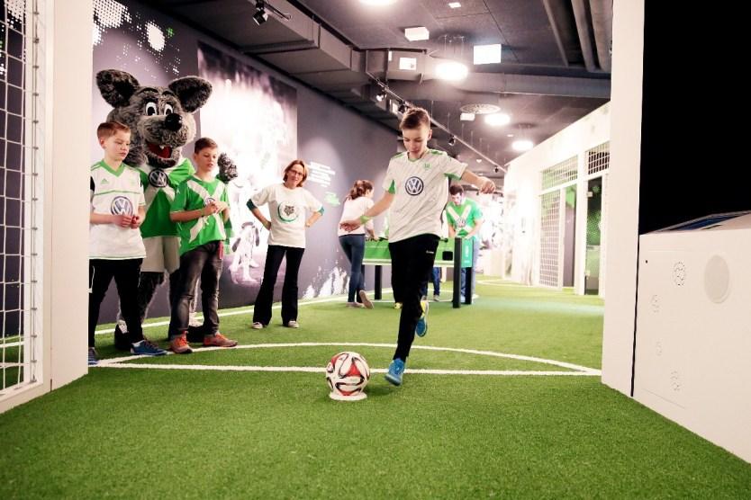 VfL FußballWelt - © VfL Wolfsburg / regios24