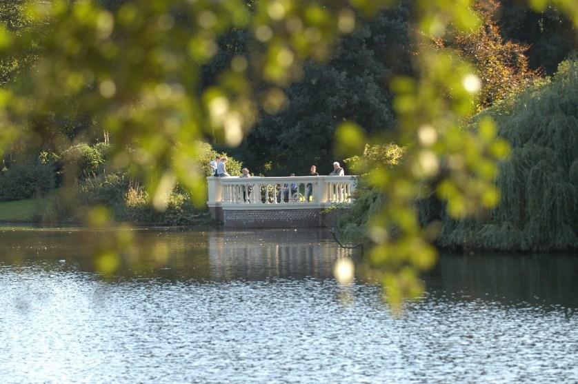 Kleiner Schlossteich im Schlossgarten Oldenburg