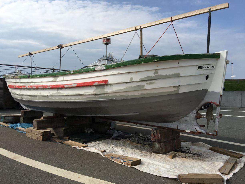 Börteboot Holzschiff