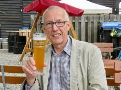 Zum Abschluss gab es ein Wolfenbütteler Bier.