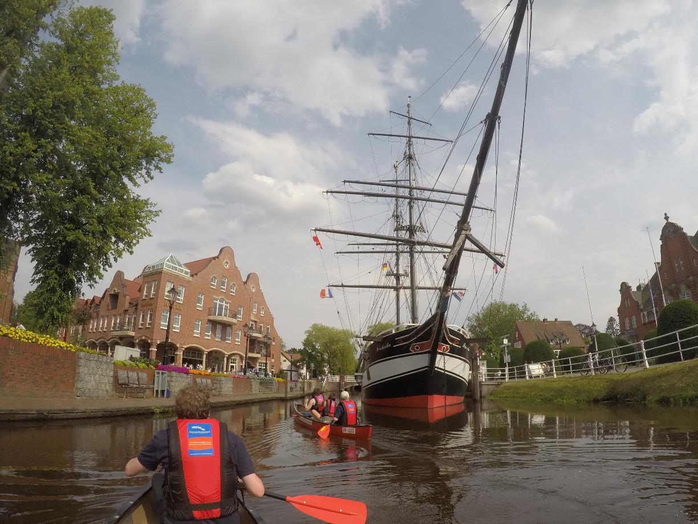 Kanutour Papenburg