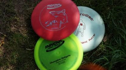 Disc Golf Hildesheim - Frisbees