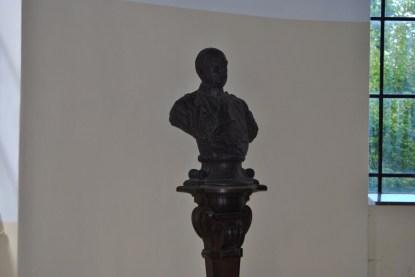Büste Otto von Bismarcks, Namensgeber des Bismarckturms (c) Michaela