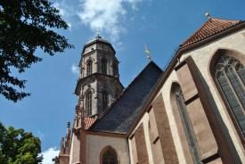Turm und Kirchenschiff der Jacobikirche (c) Michaela