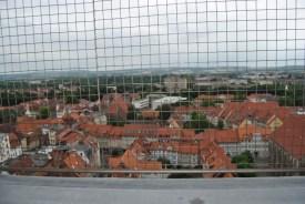 Blick vom Nordturm der Johanniskirche über Göttingen nach Westen (c) Michaela