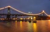 K.W.-Brücke illuminiert | Foto: Björn Lübbe