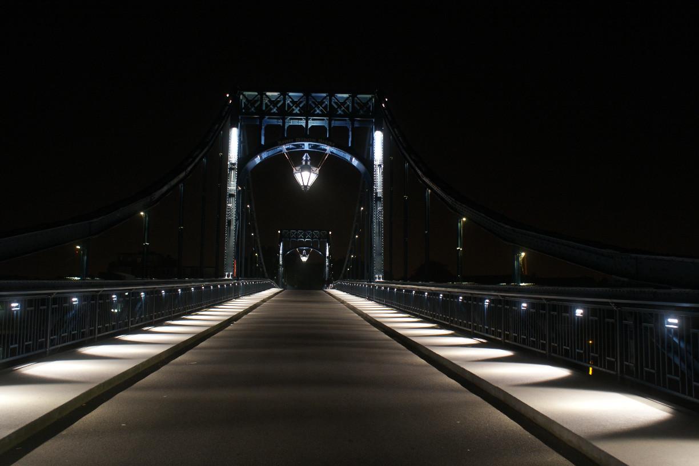 Auf der K-W-Brücke | Foto: Barbara