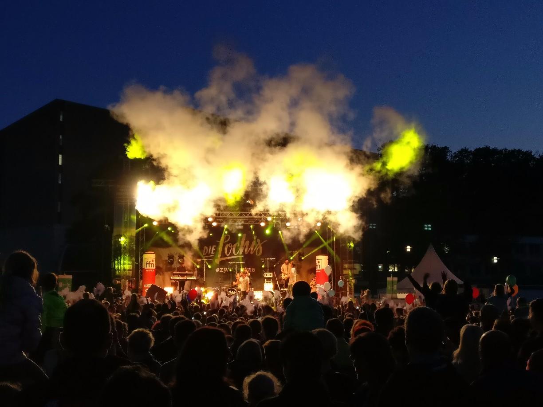Die Lochis bei Ihrem Auftritt auf dem Tag der Niedersachsen in Wolfsburg.