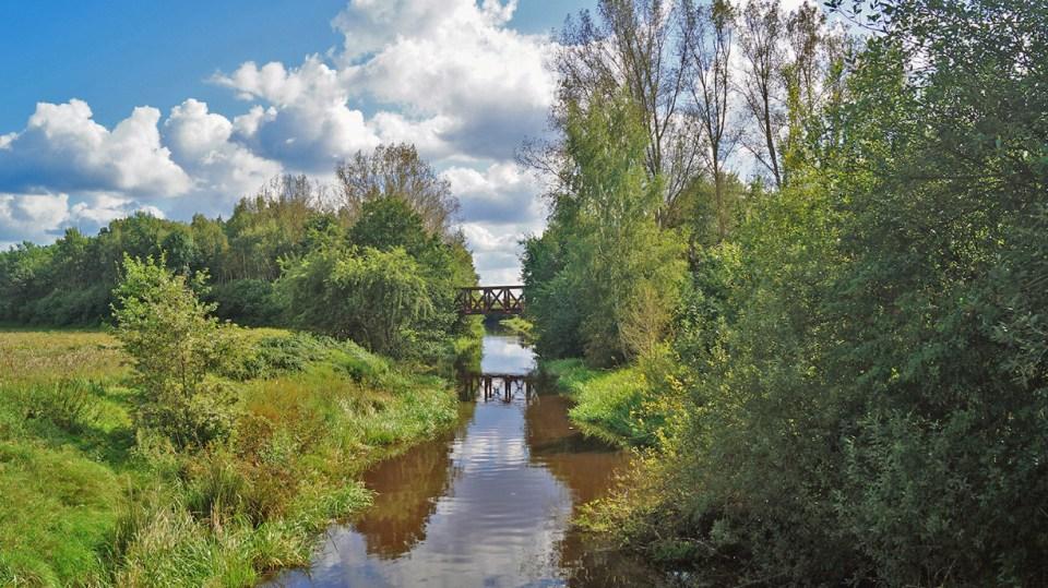 Brücke über die Ise