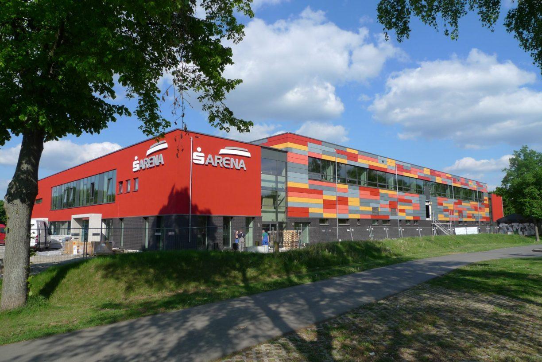 Die Sparkassen Arena - moderne Spielstätte der BG Göttingen