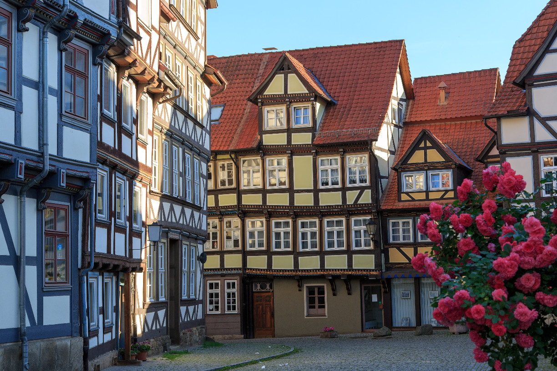 Die Sydekumstraße in Richtung Osten (c) Hann. Münden Marketing GmbH, Foto: Burkhardt