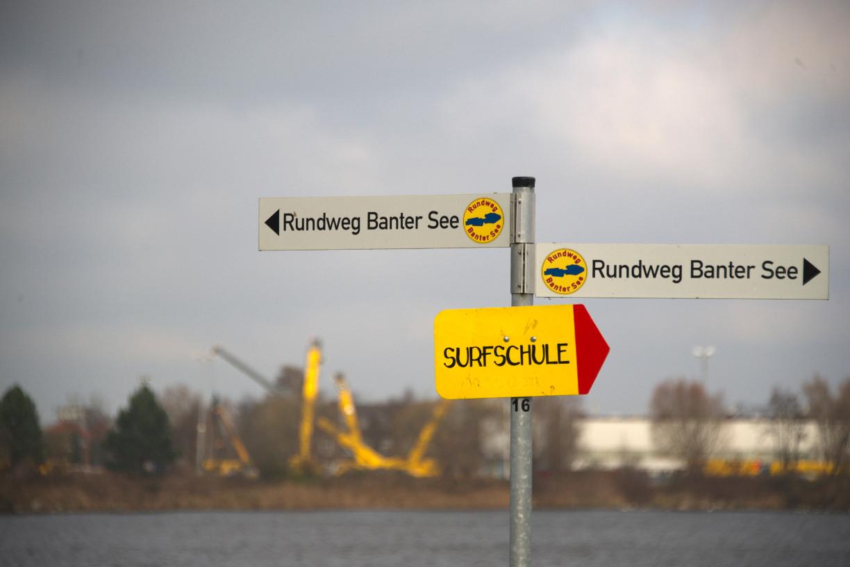Zur Surfschule? Rechts lang! © Kloppert