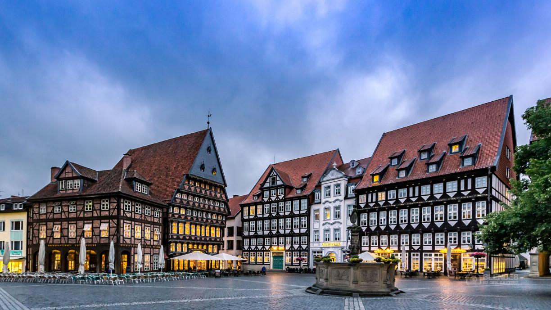 Historischer Marktplatz in Hildesheim © Dirk Bastert