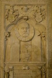 Der Architekt der Hauptkirche: Paul Francke.