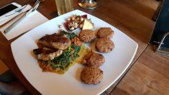 Ein exotisches marokkanisches Gericht wurde serviert