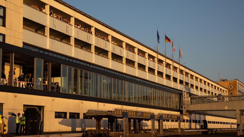 Besuchergalerie Kreuzfahrtterminal