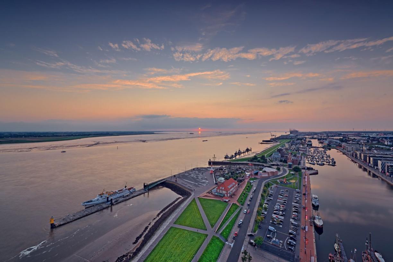 Bremerhavens Wasserseite