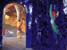 Grotte in den Herrenhäuser Gärten von Niki de Saint Phalle